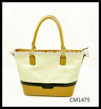 corn yellow handle ladies charming design jumbo shopping bag