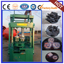 Charcoal briquette machine from sawdust