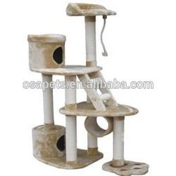cat shaped deluxe pet cat condo / cat tower / pet house Pet cat tree