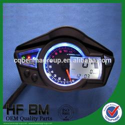 Motorcycle universal digital meter fit for all motorcycle 220km/h oil gauge 15ohm