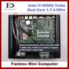 New arrival mini pc desktop 8GB RAM+128GB SSD Intel i7-4500U 1.8Ghz, Haswell, 4*USB 3.0, 4K, HDMI DP 3D game WIFI Supported