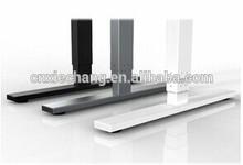 Metal height adjustable desk table legs