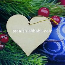 fashion handicraft home decor art minds carved wooden heart decoration for sale