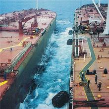 Oil tanker used marine docking pneumatic fenders