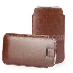 High Quality Leather Pouch Bag For iPhone 6 Plus