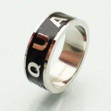 2014 High quality 316L Surgical Cheap Wholesale Mens Stainless Steel Ring