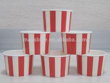 Frozen Yogurt Bowl With Plastic Dome Lid