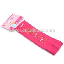 Hot fix rhinestone flower type girl accessories headband naruto headband