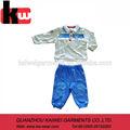 fornitura professionale oem autunno inverno qualità del cotone abbinamento camicia e pantaloni ragazzi