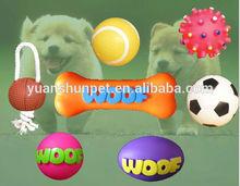 dog shaped pet toy