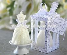 Wedding Dress Candle/Elegant Wedding Gown Candle