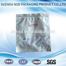 PET/AL/PE ziplock aluminum foil bags