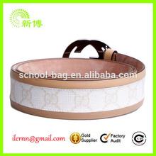 Skinny Fancy Decorative PVC Belts in Wholesale