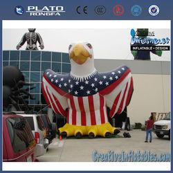 custom made inflatable eagle mascot,giant inflatable eagle,inflatable advertising eagle