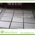 popular de pedra natural baratos estilo europeu a qualidade branco serpeggianto afiado azulejos piso em mármore