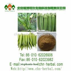Favorites Compare Kosher/FDA/GMP natural okra extract/okra extract/high quality okra extract
