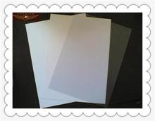 0.18mm--2.3mm Glossy and Matt plastic product pvc paper laminating sheet