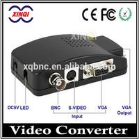 CCTV Video Converter, Hot Sale S-video VGA RCA To Hdmi Converter