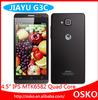 4.5 inch IPS Jiayu G3c Mobile MTK6582 1.3GHz Quad Core Android 4.2 1GB RAM 4GB ROM 3G WCDMA Dual SIM Dual Camer GPS Mobile Phone