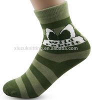 Wholesale Custom Christmas Gifts Rabbit For Boy Winter Sock