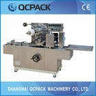 Imported AC transducer auto cellophane film packing machine