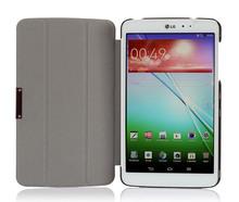 Super Slim Silk Leather Case Cover for LG Optimus G Pad V500 8.3
