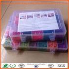 UK crazy selling 4200 loom bands fun loom kit rubber band loom kit