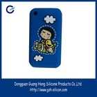 customized silicone gel rubber epoxy resin cellphone cases made in Guangdong