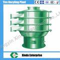 zs criba vibratoria de reciclaje de neumáticos de la máquina caliente de la venta de goma más verde