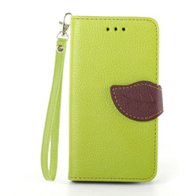 newest design fashion colorful cell phone leather case for Samsung I8262