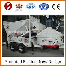 Ready concrete mixing machine,Full automatic mobile concrete batches