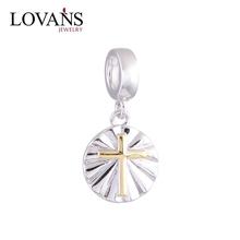 Bead Jewelry Trends 2014 Engraved Pendants Sterling Silver Cross YZ632