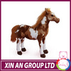 2014 hot sale srealistic stuffed animals big toy horse