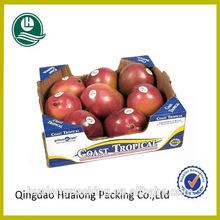 High quality corrugated fruit apple carton box