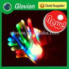 Glow in the dark gloves glovion halloween light gloves cheap gloves