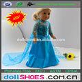 2014 heißer verkauf American mädchen puppe kleid 18-Zoll-Puppe kleid gefroren puppe elsa kleid gefroren ann kleid und kleid