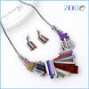 Neon necklace wholesale unique necklace set