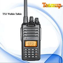 China cheap ham radio transceiver TX1 vhf handy talkie