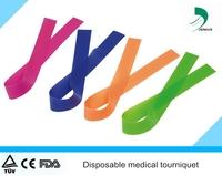 Latex Free 1''x18'' medical phlebotomy tourniquet cuff