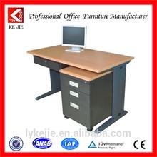 aluminium alloy computer desks steel simple office desk/excellent fashionable computer desk design