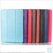 crystal design case for apple ipad 6,triangle fold cover case for ipad 6,plastic case for ipad 6