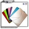 luxury Texture Transformers PU Leather Case for iPad Air 2/ iPad 6 with PC Back Cover