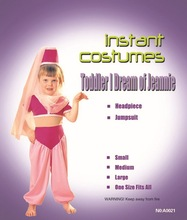 Toddler I Dream Of Jeannie Costume For Girl halloween party costumes