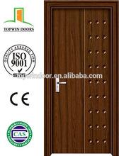New design Economical Interior wooden doors, MDF PVC door, bedroom door