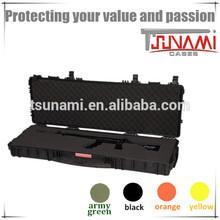 hard plastic gun box with handle waterproof rifle case plastic 5.11 tactical case