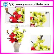 PU magnolia flower/High Quality Artificial Magnolia flower