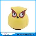 Presente personalizado pu brinquedo animal coruja tipo bola anti-stress