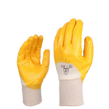 best price working and safety nitrile glove,Nitrile fully coated glove,nitrile glove