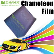 Chameleon Purple to Blue car vinyl 3D Carbon Fiber Film with Air Free Bubbles Car Stickers/Size:1.52*30m