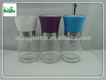 150ml spice jars cooking tools, salt and pepper grinder shaker, sugar dispenser